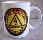High Voltage Groundman Coffee Mug Gift