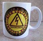 High Voltage Troubleman Coffee Mug Gift